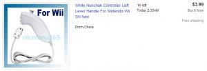 Nunchuk eBay