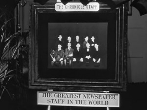 Newspapers journalists in Citizen Kane