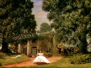 Scarlett O'Hara in front of Tara, Gone with the Wind (1939)