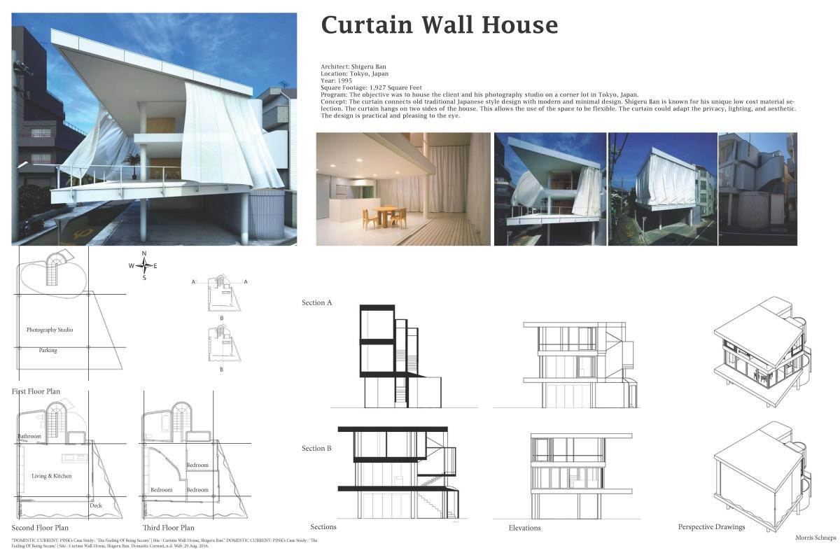 Curtain Wall House | ARCH2310 Design III, FA2016