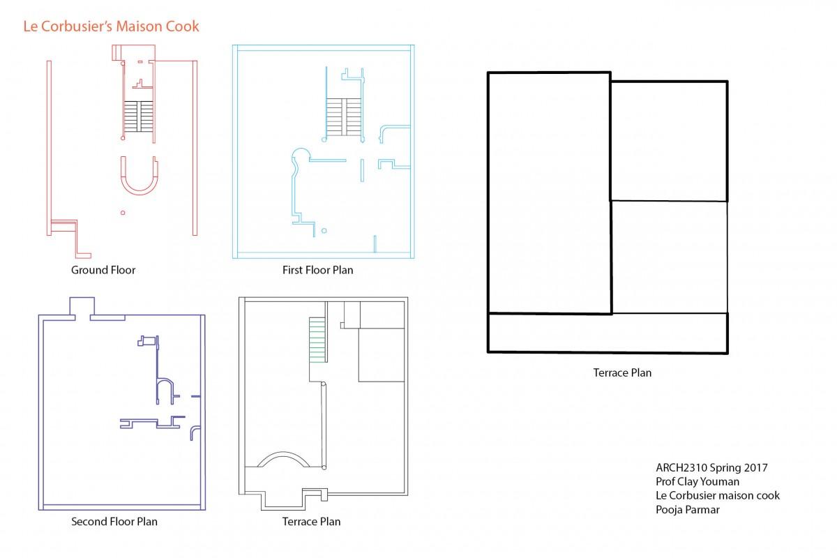Le Corbusier Maison Cook Floor Plans Arch2310 Spring 2017 Arch2310 Spring 2017