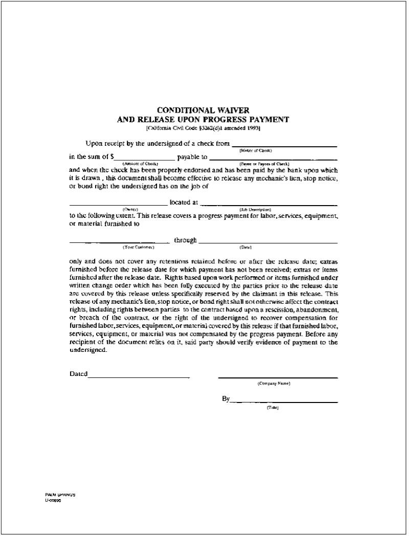 lien release forms - solarfm.tk