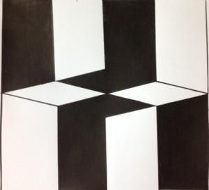 Figure Ground/Optical illusion
