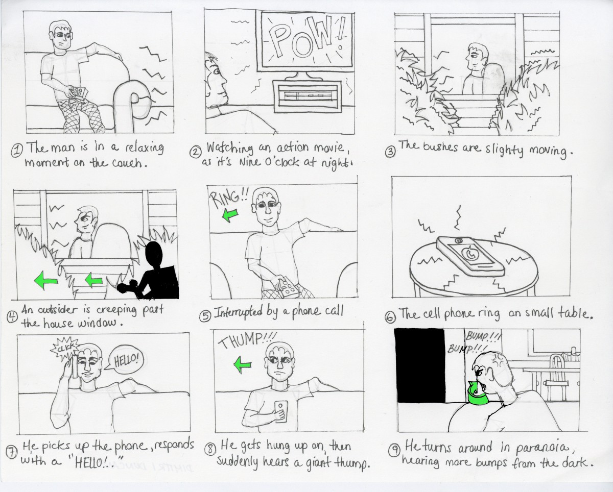 House Suspense Script Amp Storyboard Dimitri Duncan S