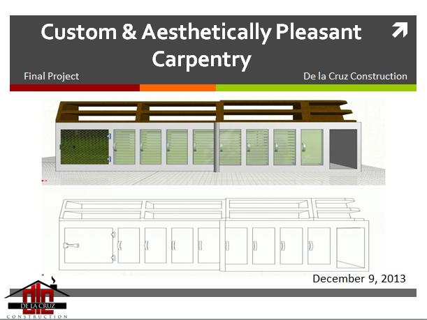 Custom and Aesthetically Pleasant Carpentry