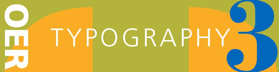 COMD2427 Typographic Design III  OER