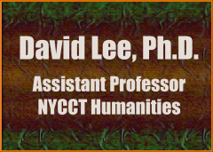 David Lee's Teaching Portfolio