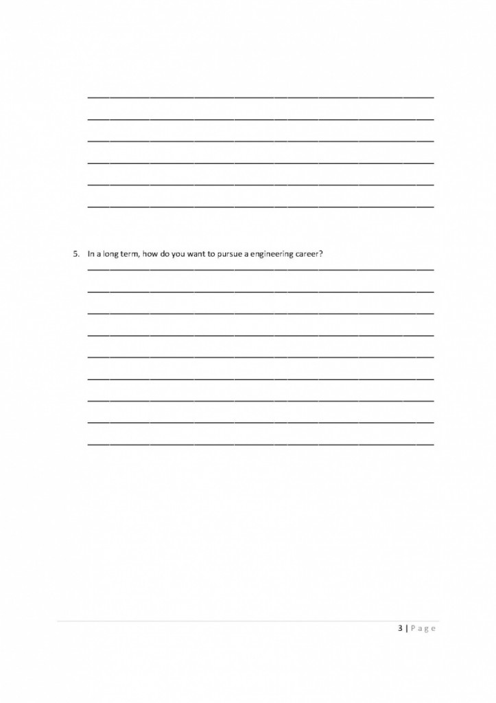 3 Define your goal Worksheet