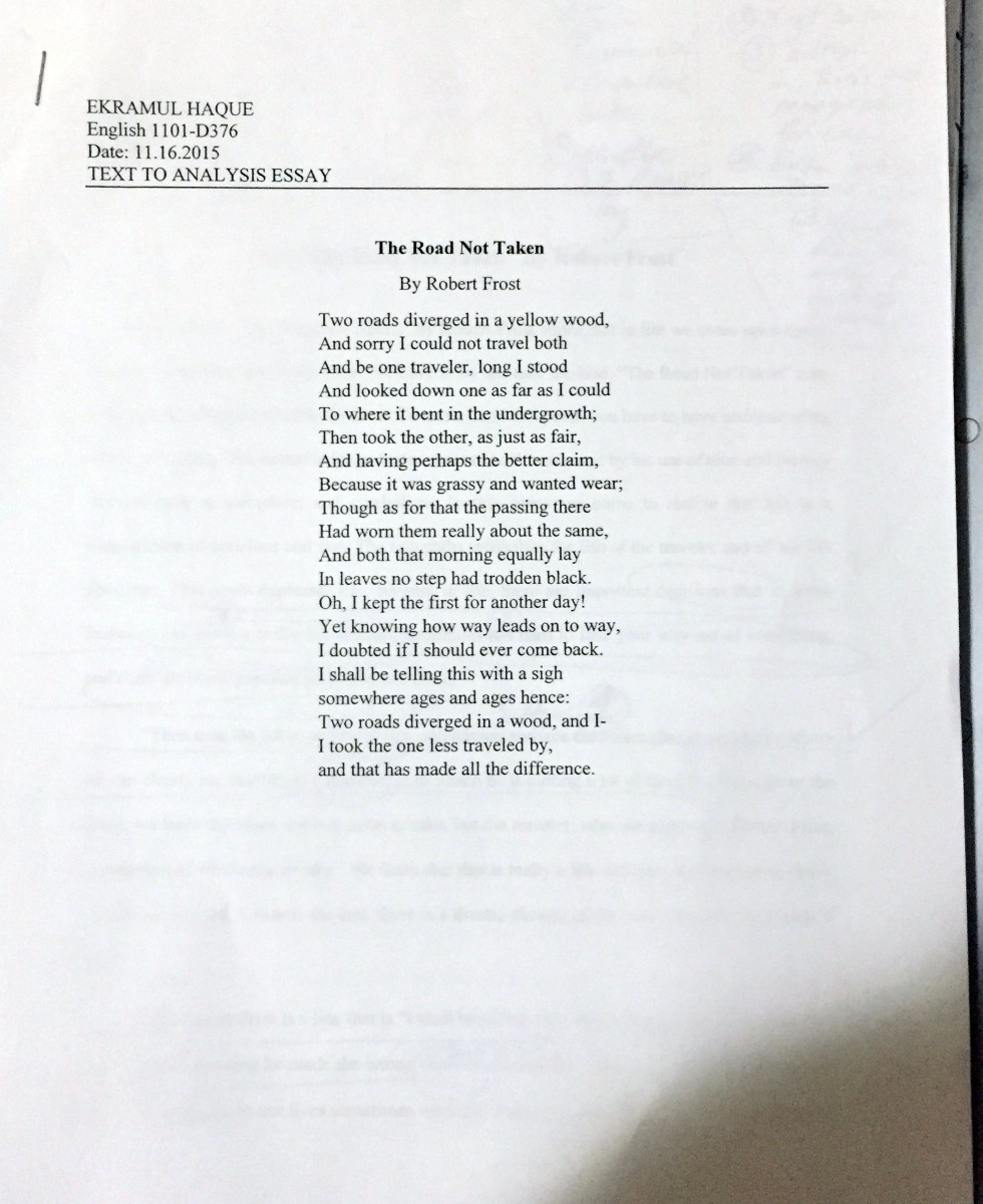 robert frost anthology intro essay Table of contents for the bedford introduction to literature : reading, thinking,  (essay) a plot synopsis of  robert frost, acquainted with the night.