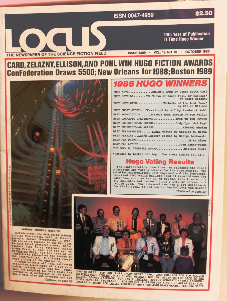 Locus trade magazine