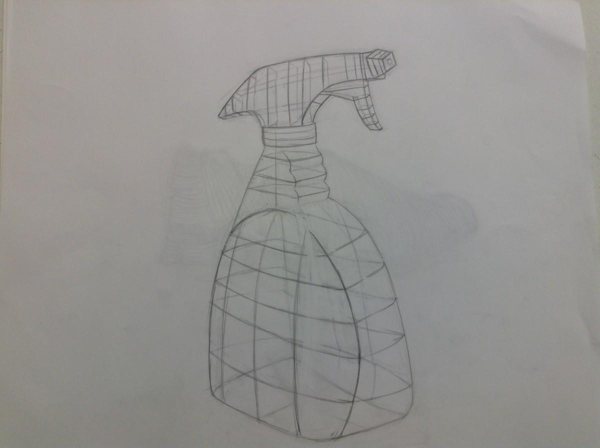 Contour Line Drawing Objects : Cross contour erik lozano s eportfolio