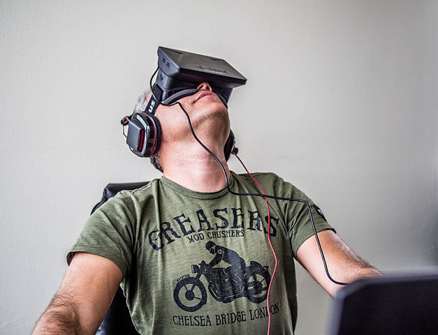 """Orlovsky and Oculus Rift"" by Sergey Galyonkin is Licensed Under CC BY-SA 2.0"