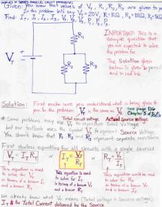 SERIES-PARALLEL CIRCUIT PROBLEM#1pg1