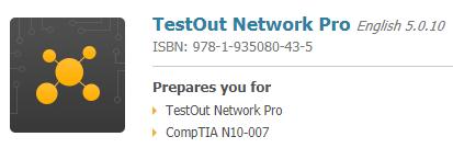 TestOut Network Pro
