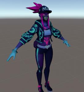 neon akali avatar