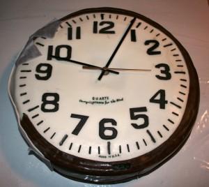 Clock Cake from davidgeaney.com