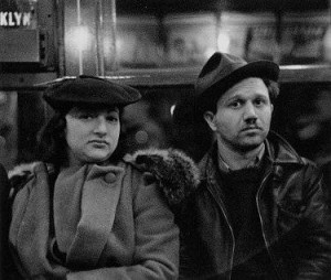 Walker Evans, Subway Couple