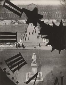 Andre Kertesz, Clock of the Academie Francaise, 1932