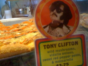 My Usual: Tony Clifton pizza at Two Boots
