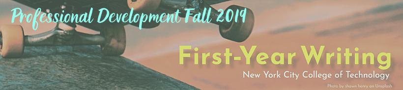 2019 Professional Development FYW