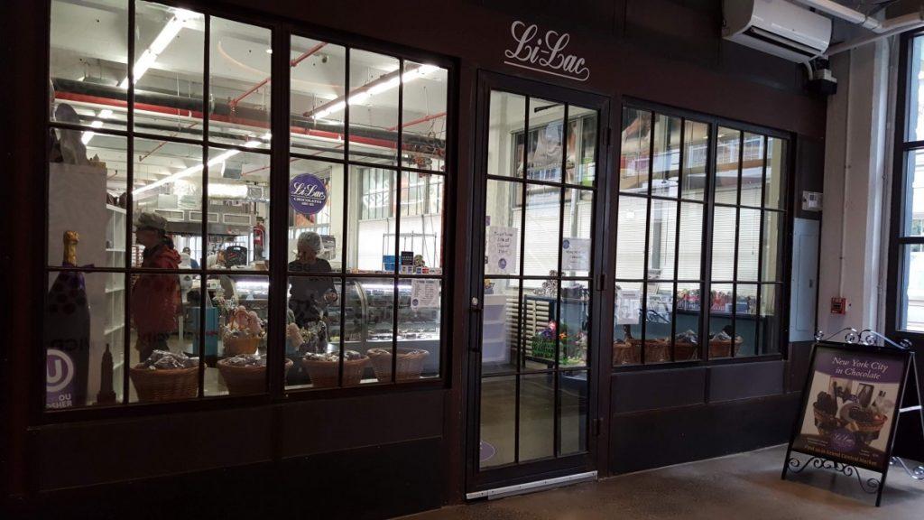 The entrance of Li-Lac Chocolates - Photo credit by Laura Ng