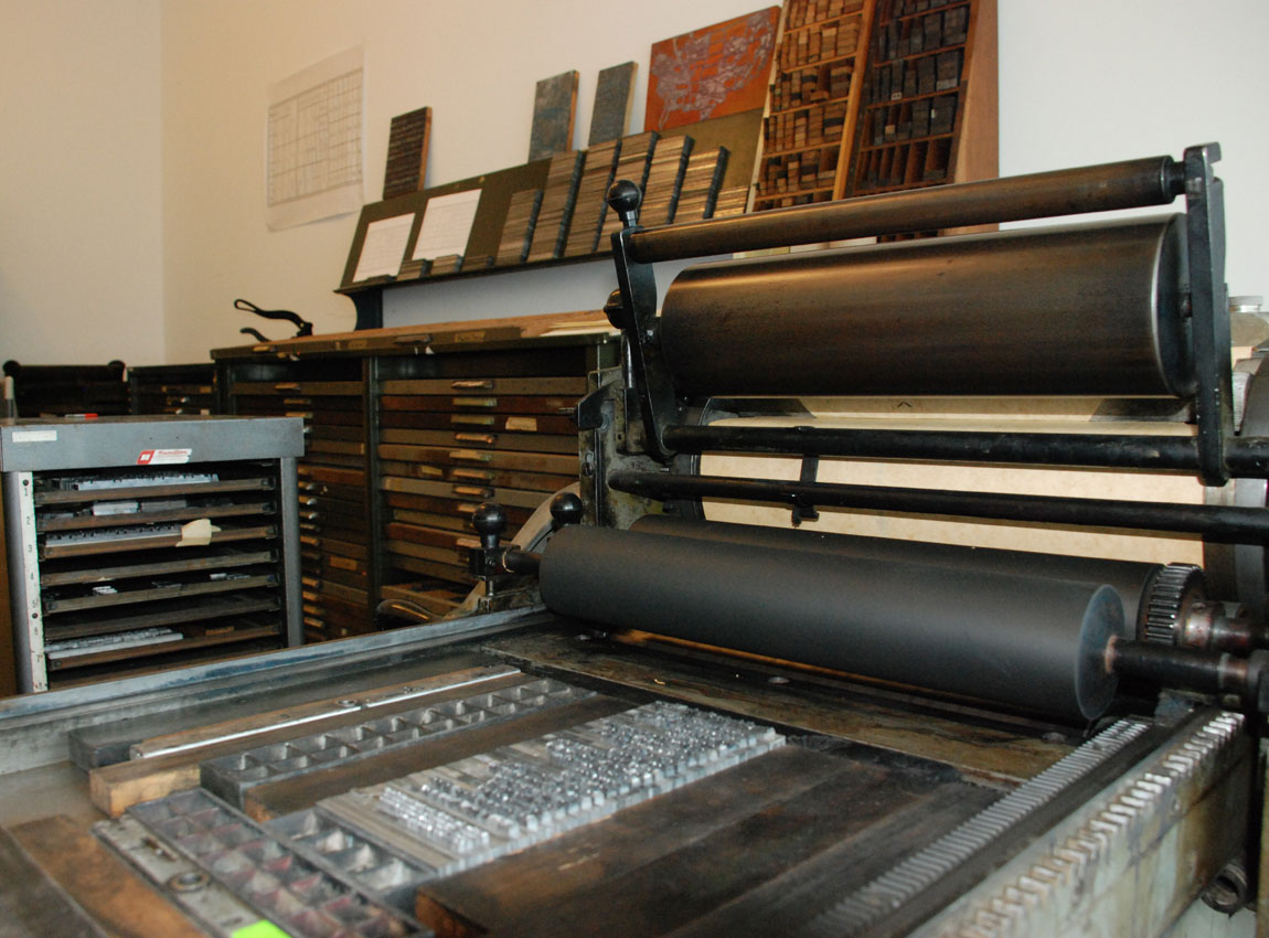 The Process Of Letterpress Printing