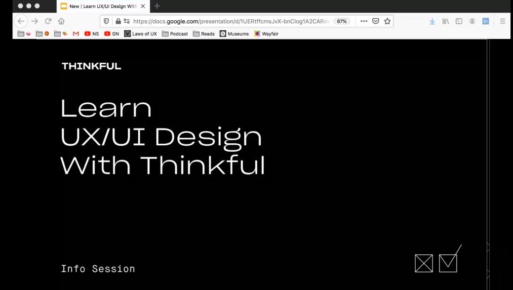 Webinar #3 Learn UX/UI Design With Thinkful