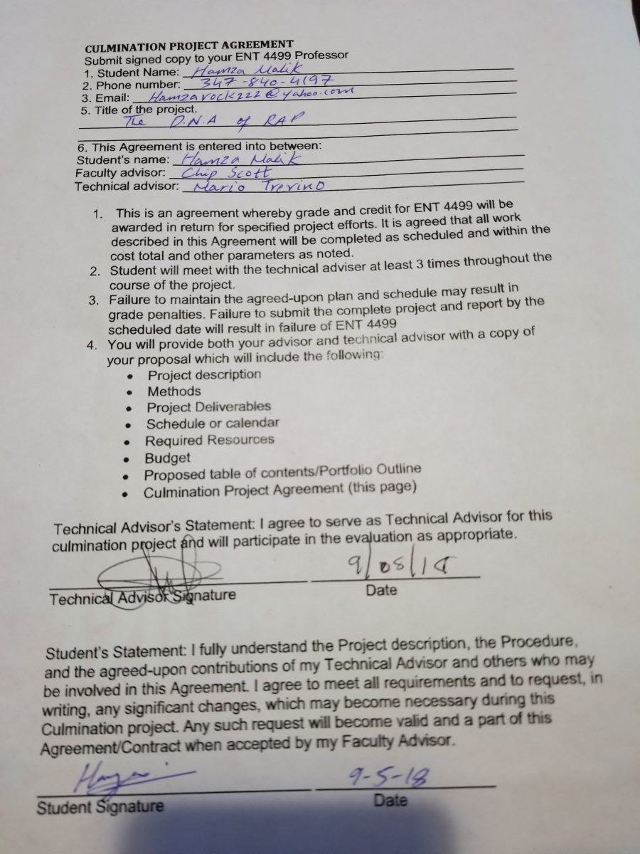 Signed Culmination Agreement