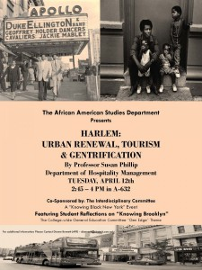 Harlem and Gentrification Poster April 12 at 245 in Room A632_1