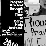 Against Gun Violence Poster