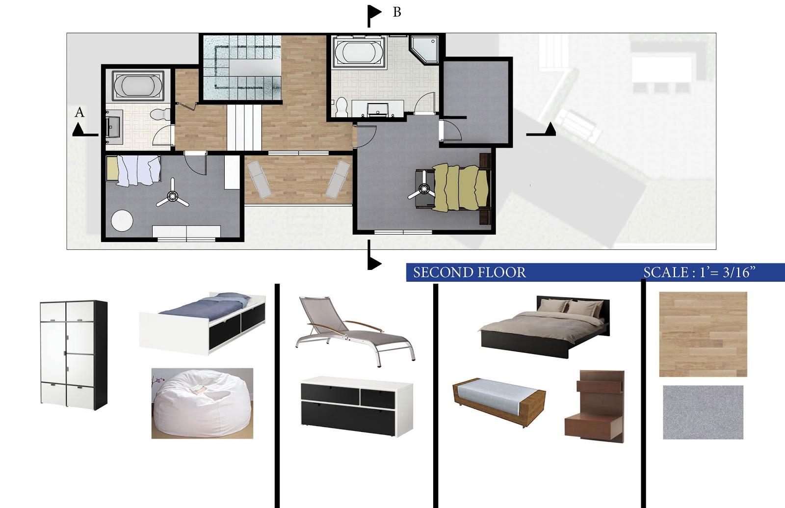 Residential Floor Plans  Jill Bouratoglou39;s Portfolio