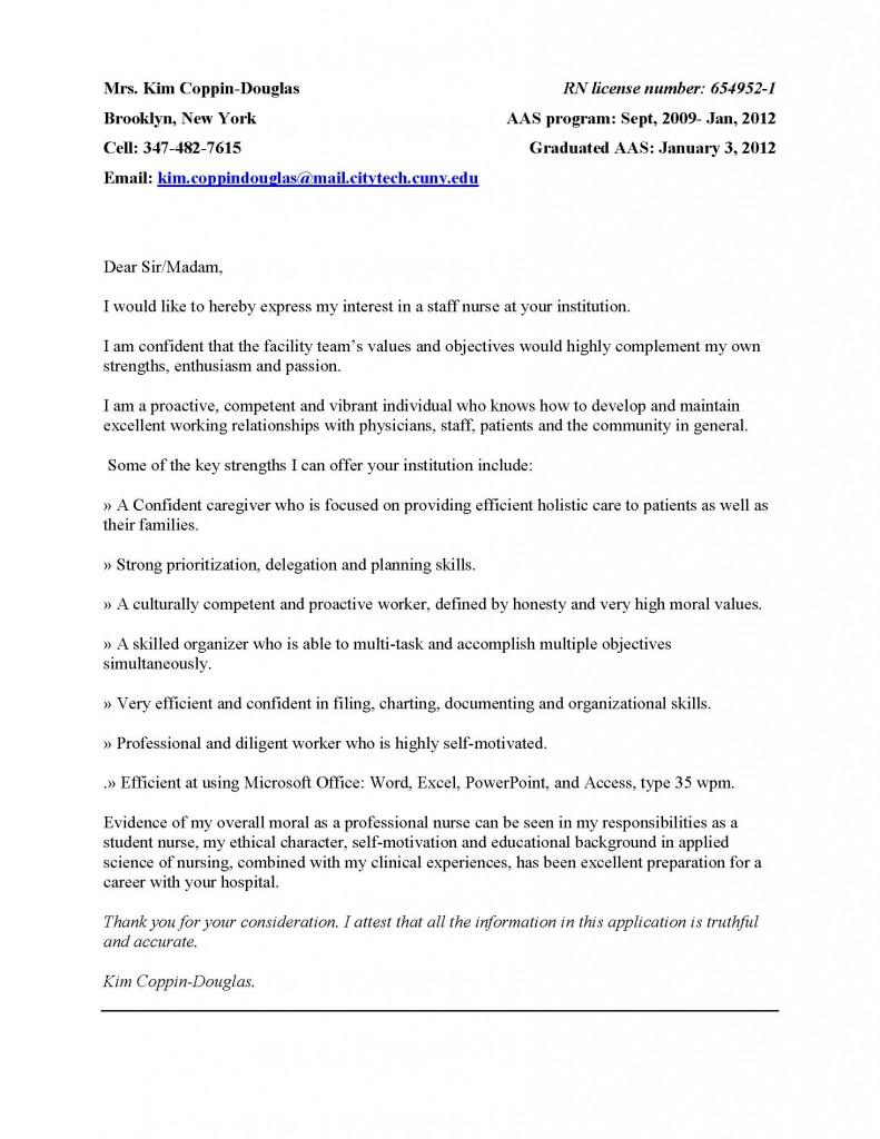 cover letter portfolio essays