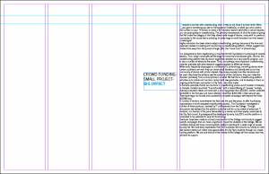 Annual Report Indesign Layout 3