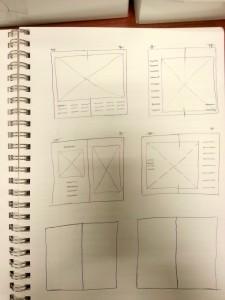 Idea Sketch - Thumbnail Layout 2