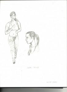 Jogger Character