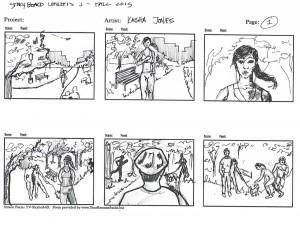 Kaisha - Storyboard Concepts 1.2 - Park
