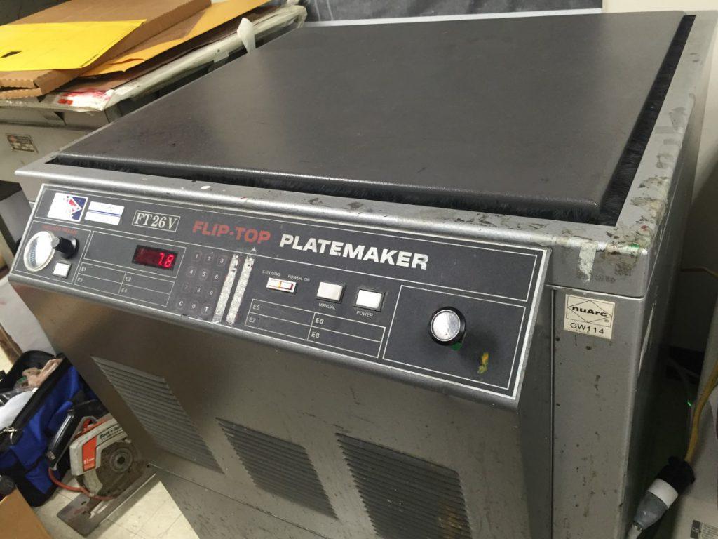 platemaker