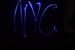 NYC Light Painting