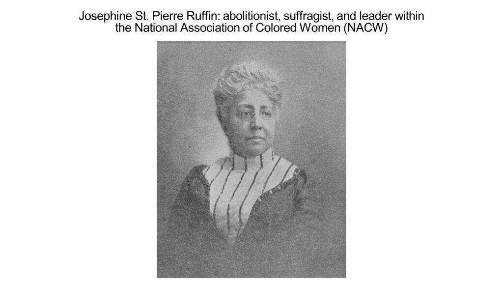 Mrs. Josephine St. Pierre Ruffin, circa 1900; NYPL Digital