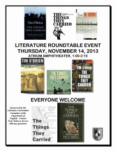 LITERATURE ROUNDTABLE EVENT