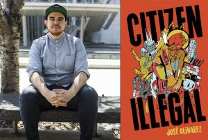 Jose Olivarez and his book-Citizen Illegal