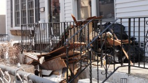 Remnants of destruction remain a year after Hurricane Sandy hit Sheepshead Bay