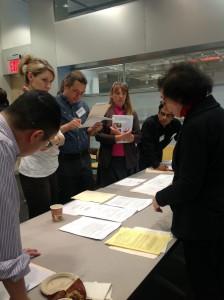 Associate Fellow Professor Lenore  Hildebrand, Human Services Dept, presents her Living Lab activity