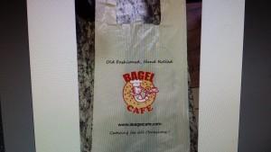 Bagel Cafe Mock Up Bag