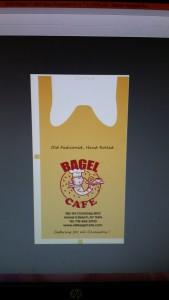 Bagel Cafe Template Bag