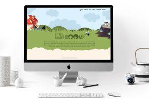 Cafe Website Splash page