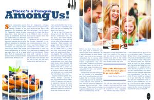 Little Mushroom Cafe- Updated magazine spread