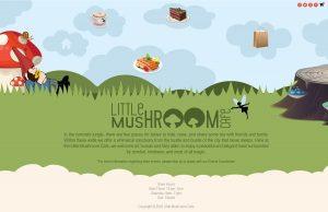 Little Mushroom cafe- Updated splash page