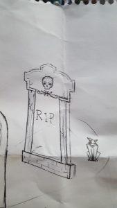 Grave Sketch