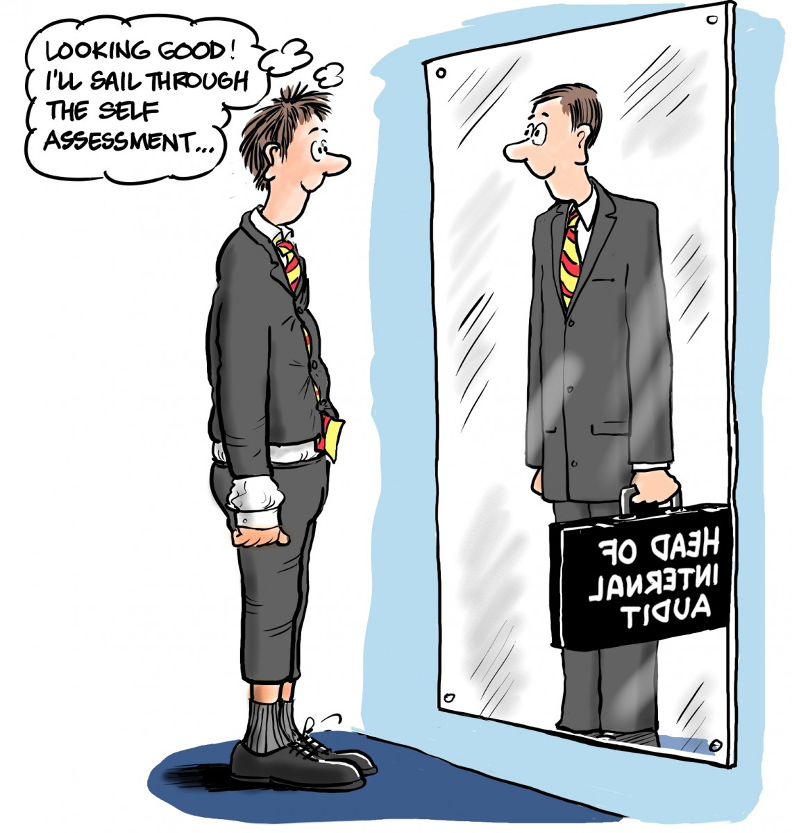 Looking-good-Ill-sail-through-the-self-assessment